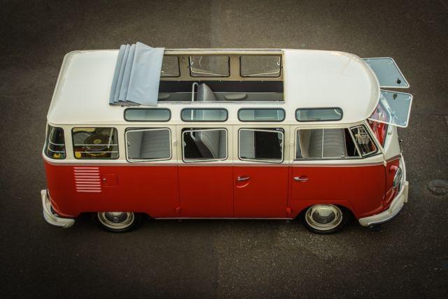 Original 1959 vw 23 window deluxe samba bus volkswagen for 1959 23 window vw bus for sale