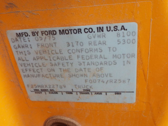 original paint truck lost title bill of sale only engine out of