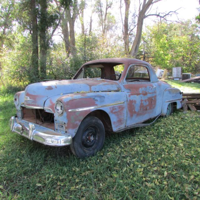 Parts Car NO TITLE Bill Of Sale Only 1950 Deluxe Plymouth