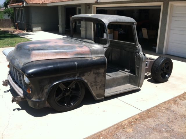 Pro Touring 1955 Chevy Truck Custom Rolling Chassis With