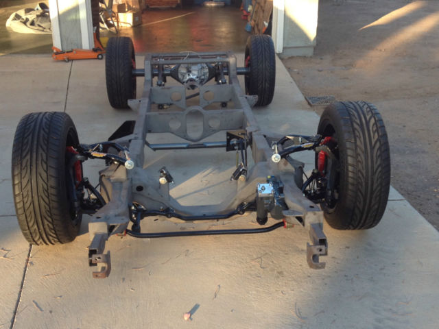 PRO TOURING 1955 CHEVY TRUCK CUSTOM ROLLING CHASSIS WITH ...