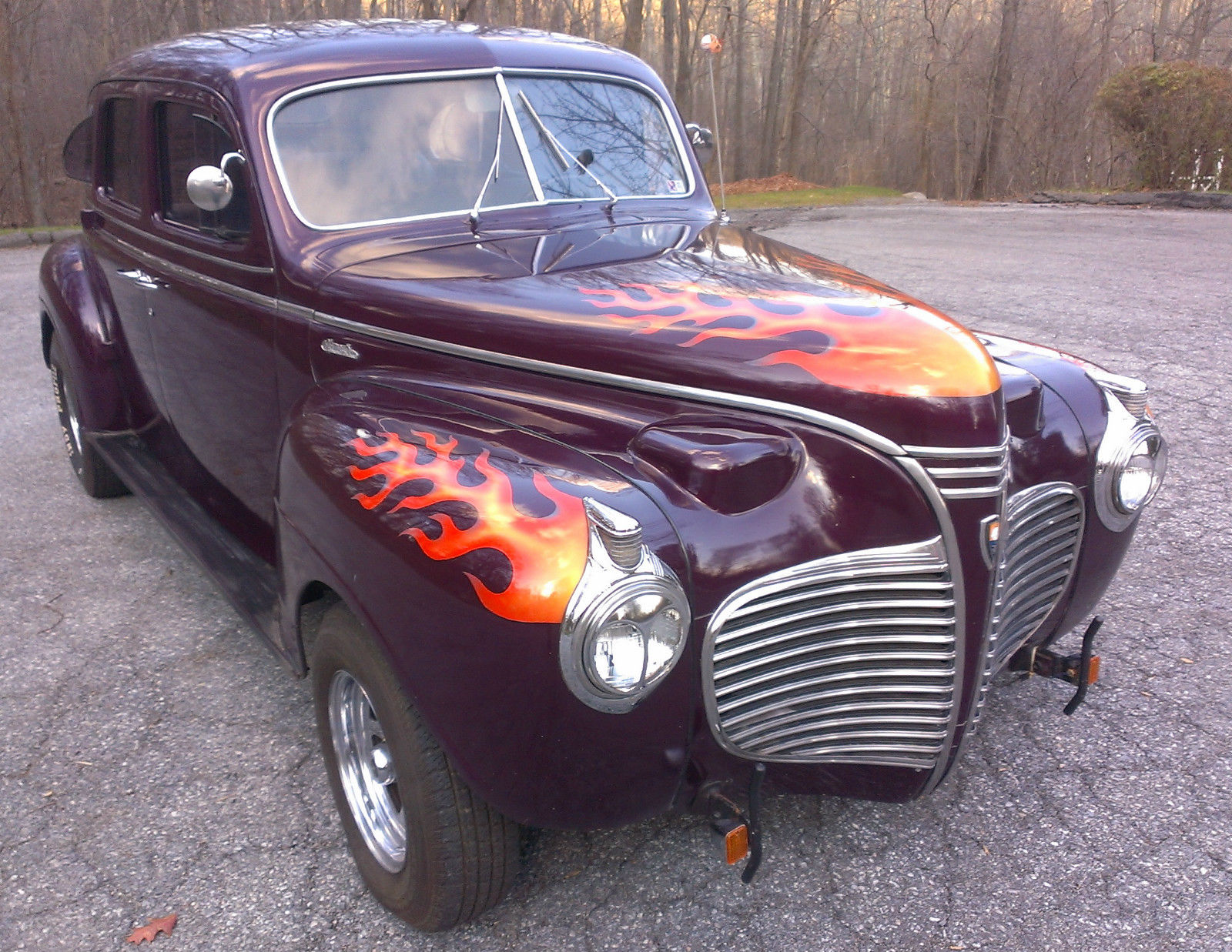 Professionally Built Restomod Plymouth 5k On Build All New Not 1941 Deluxe 2 Door Dodge Chrysler