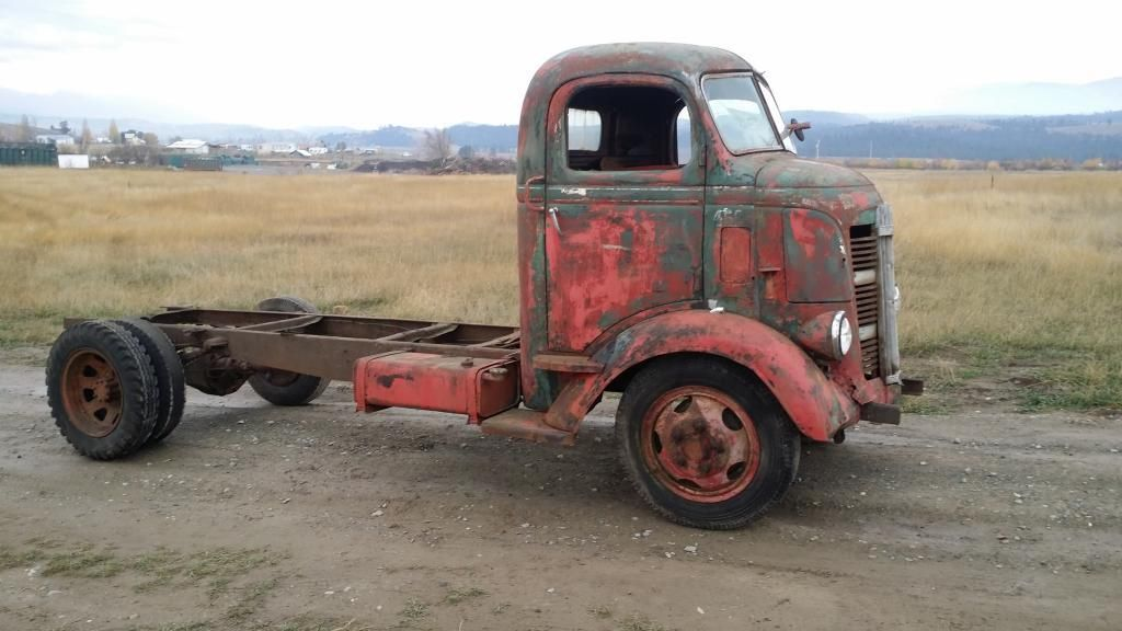 RARE 1937 GMC CAB OVER COE TRUCK: KUSTOM RAT ROD TOPKICK ...