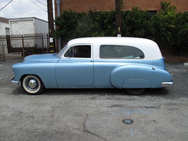 Rare 1950 chevrolet panel ambulance zero rust