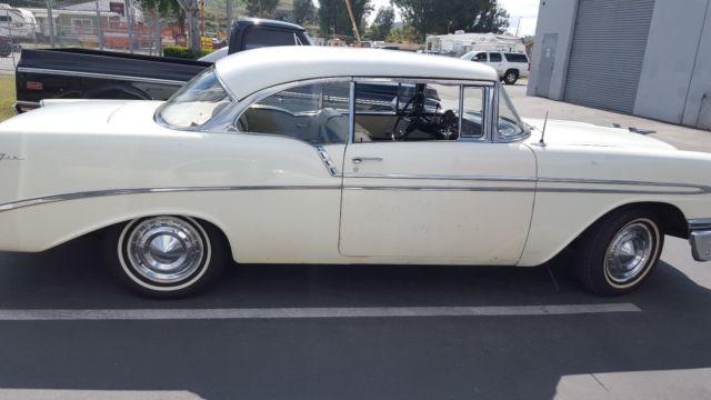 Rare 1956 Chevy Bel Air 2 Door Hard Top California Unrestored