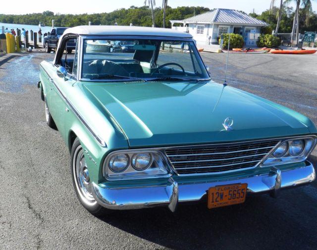 Rare 1964 Studebaker Daytona Convertible