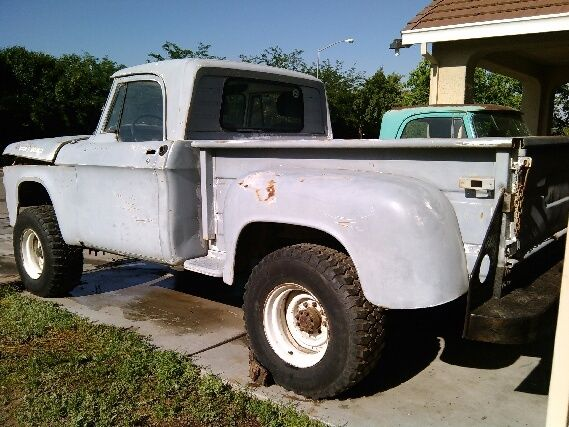 Rare 1966 Dodge Truck Power Wagon W100 V8 4spd Big