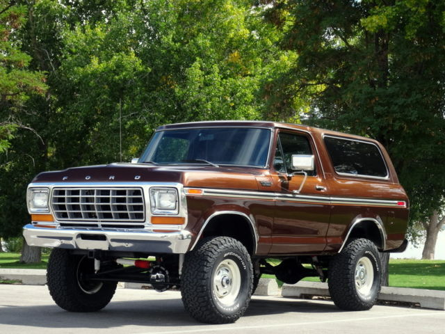 rare 1978 ford bronco ranger xlt 4x4 fully restored. Black Bedroom Furniture Sets. Home Design Ideas