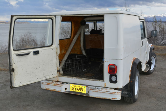 7 Passenger Suv List >> RARE 1984 CJ8 Alaskan Postal Jeep with World Cab Hard Top!