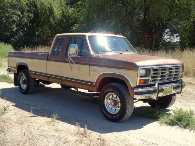 Rare  1985 Ford F250 Xl  4x4  Diesel  Explorer Edition
