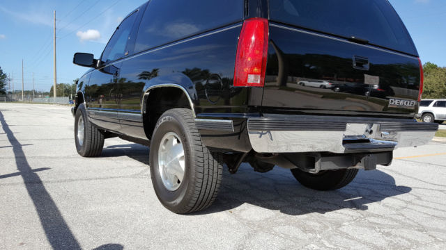 rare 1994 blazer tahoe 2 door 65k original miles. Black Bedroom Furniture Sets. Home Design Ideas