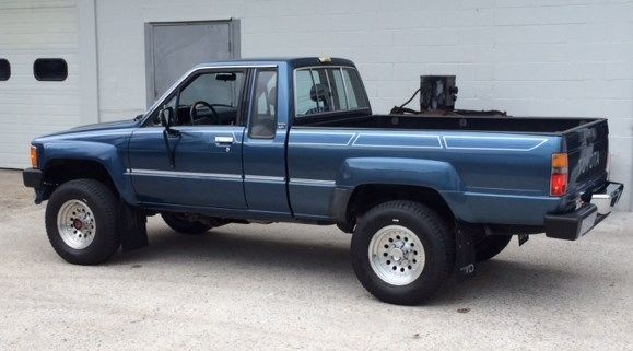 Duraliner Bed Liner >> Rare Blue 1988 Toyota Pickup Extra Cab Auto 4wd Very Clean ...
