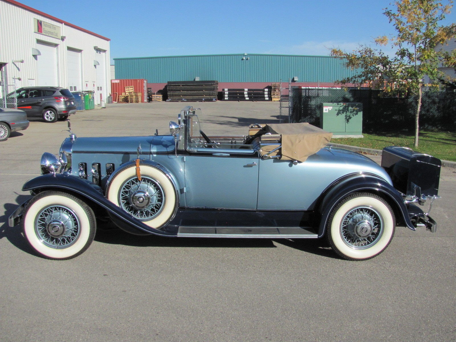 Rare CCCA Full Classic 30's Roadster Vintage Antique Car