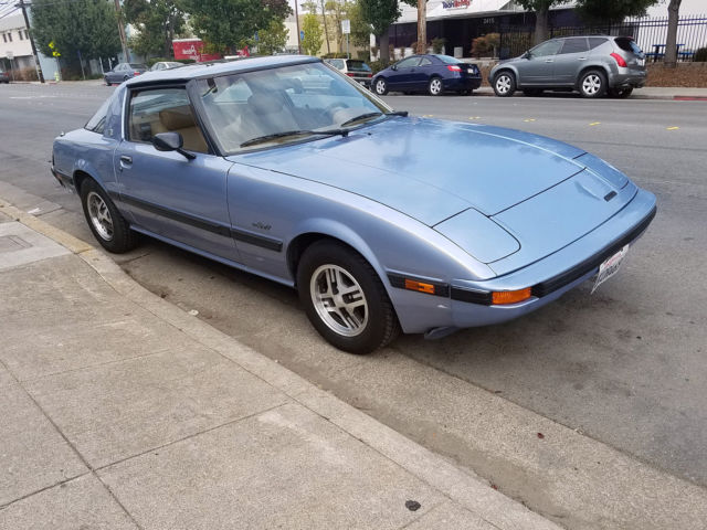 rare classic 1983 mazda rx7 gsl non running automatic glass roof 119k miles. Black Bedroom Furniture Sets. Home Design Ideas