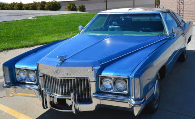 Rare Custom Dunham 72 Cadillac Eldorado Superfly Flashcar
