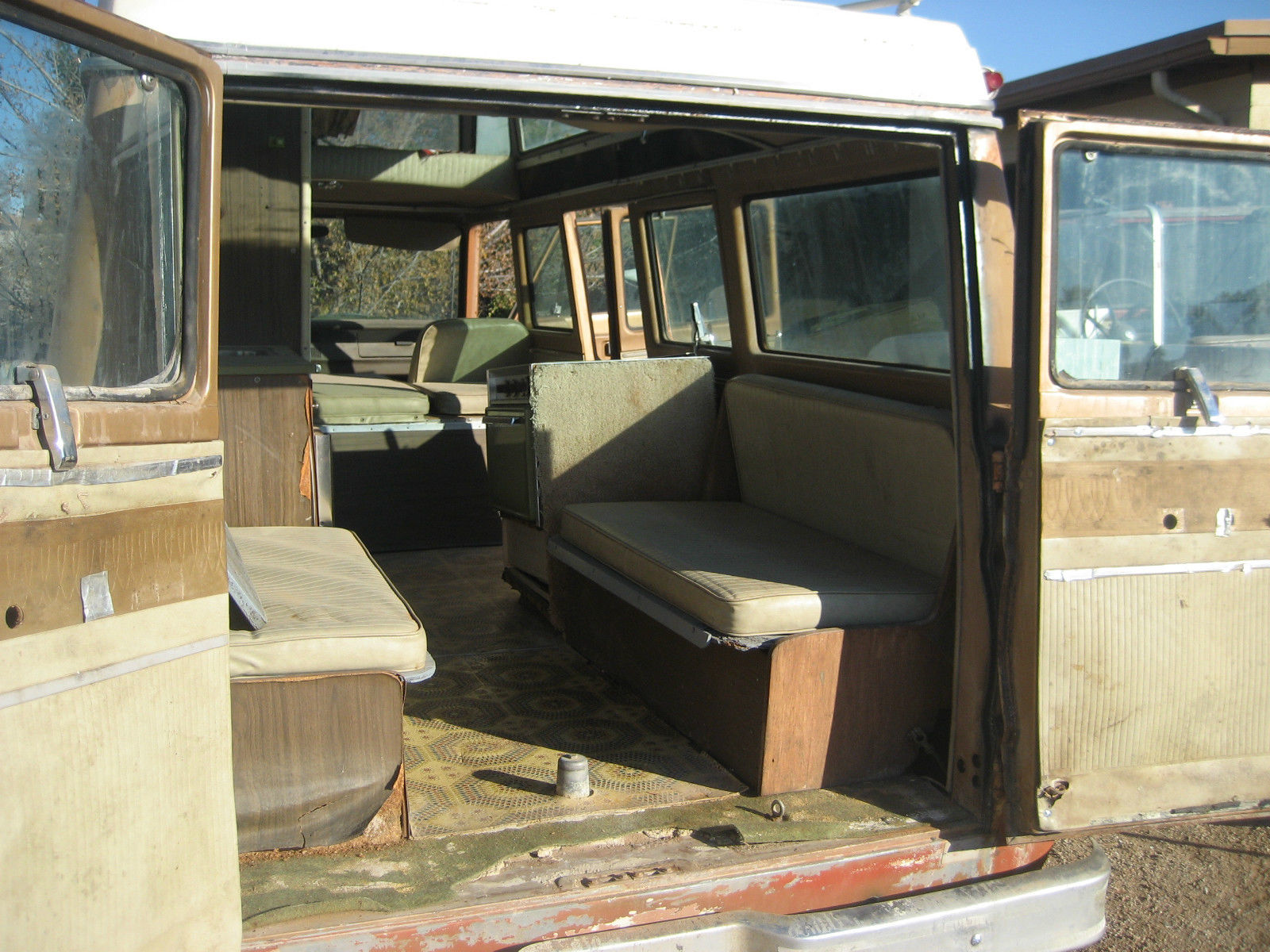 Rare Dodge A100 25 Window Camper Van Rust Free 100 Complete 1969 Runs Great For Sale In Mesa Arizona United States