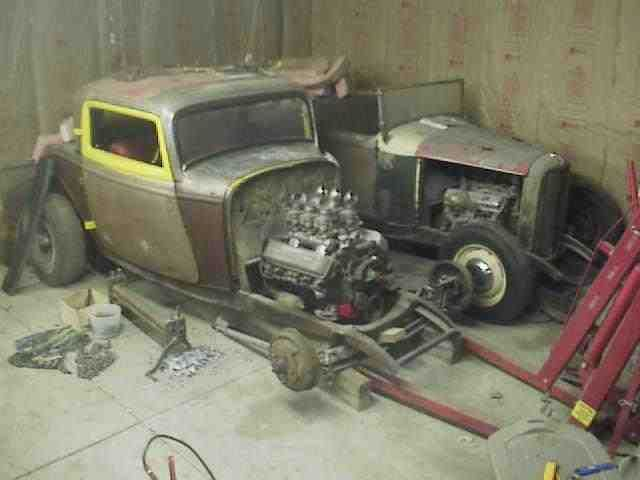 Real 1932 Ford 3 Window Coupe Gennie Henry Solid Body Bare