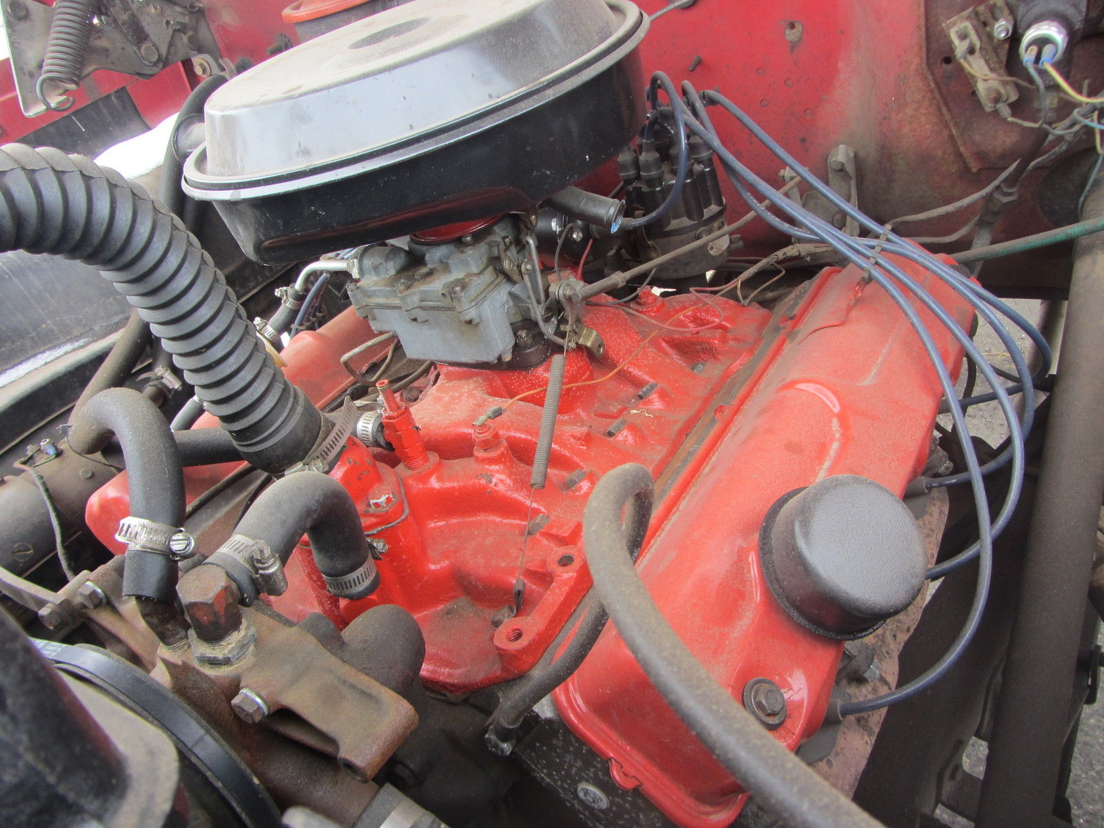 Red 1960 Dodge Power Giant Wagon Four Door 4 Speed With 318 Poly 1954 Crew Cab