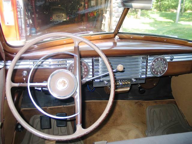 REFURBISHED 1946 PACKARD CLIPPER 4 DOOR MANUAL TRANSMISSION