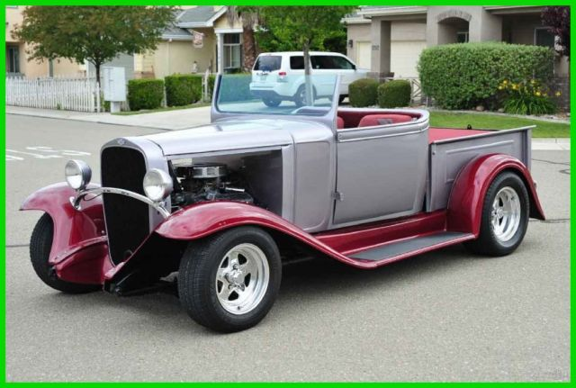 Restomod Chevy Pickup Truck Roadster Convertible Sp Ford