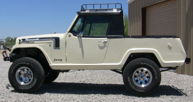 Restored 1968 Jeep Commando 4x4 Half Cab Rare & Unique ...