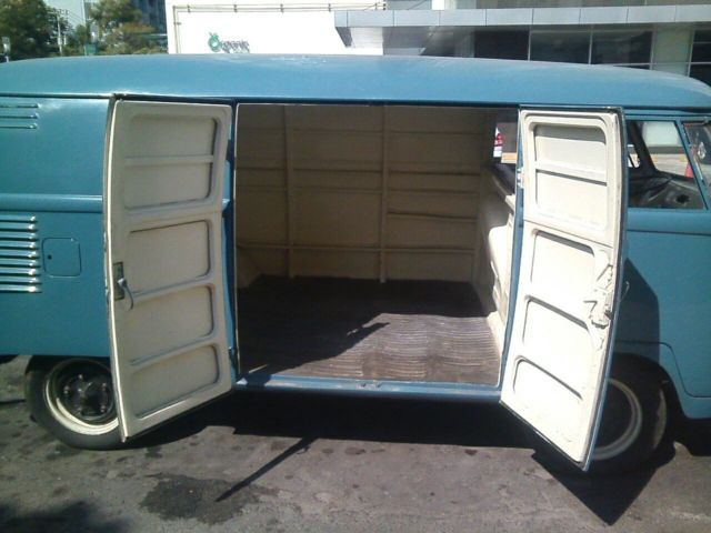 Restored German Made 1958 Vw Barn Door Split Panel Bus