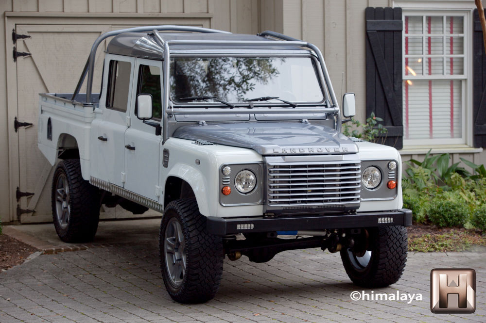 Hilton Head Land Rover >> Restored Land Rover Defender Himalaya 130 V8 Automatic for ...