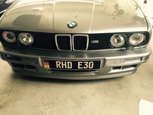 Right Hand Drive 1989 BMW 325i MTech 2