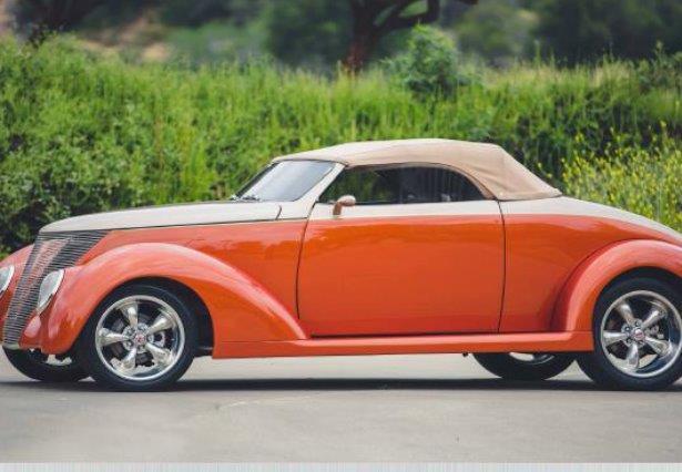 roadster 1937 convertible rebuilt all custom classic car. Black Bedroom Furniture Sets. Home Design Ideas