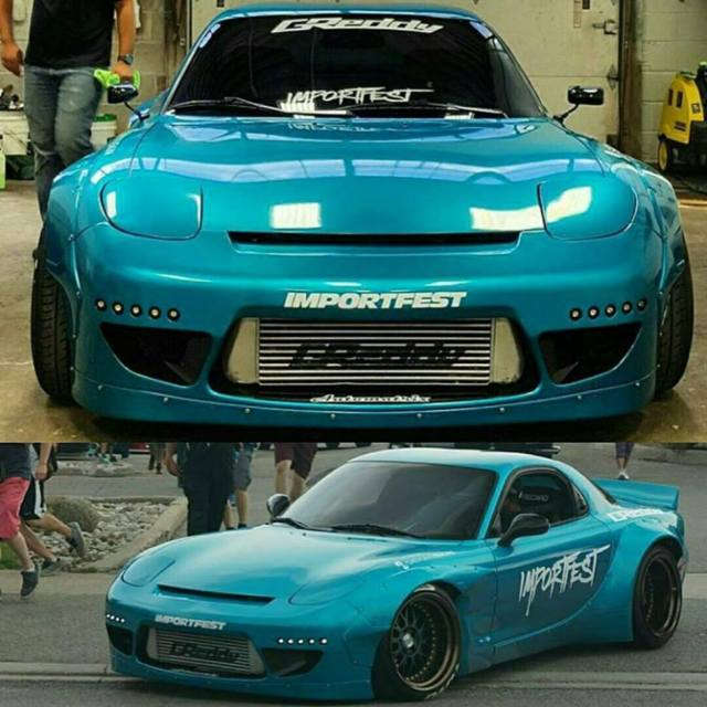 Rocketbunny Rx7 , Sema Vehicle