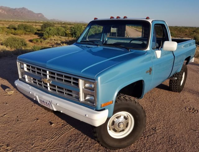 1967 72 Chevy Trucks For Sale In Indiana besides C10 Frame Notch moreover Watch besides 31745 1969 ford f   250 ranger highboy 4x4 likewise 388772 Rust Free 1984 Chevrolet K20 34 Ton 4x4 Very Orig Straight Dry Arizona Truck. on chevy c20 4x4