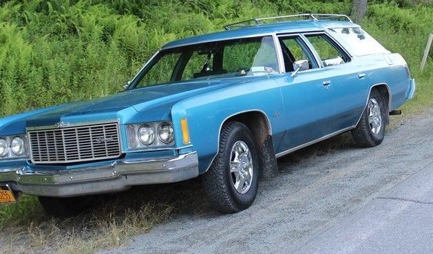Solid Body Classic 1975 Chevrolet 350 400 Impala Station Wagon