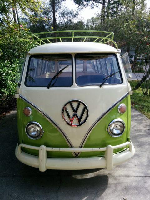 Split windshield vw bus volkswagen t1 kombi 15 windows version for 14 window vw bus