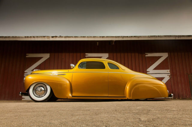 Stunning Air Bagged Gold Candy Kustom Tail Dragger Chop