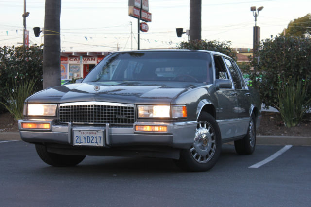 SUPER CLEAN! ONE CALIFORNIA OWNER 1989 CADILLAC DEVILLE ...