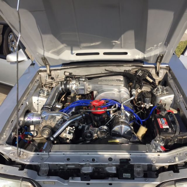 Bbc Vortech Supercharger For Sale: Supercharged 1993 Mustang GT 331 Saleen Cobra 87 88 89 90