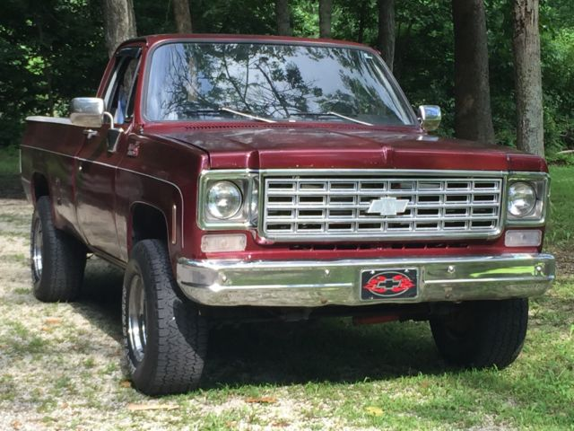 This is it a 1978 Chevy K20, Long Bed, 4X4, AT, Runs and ...