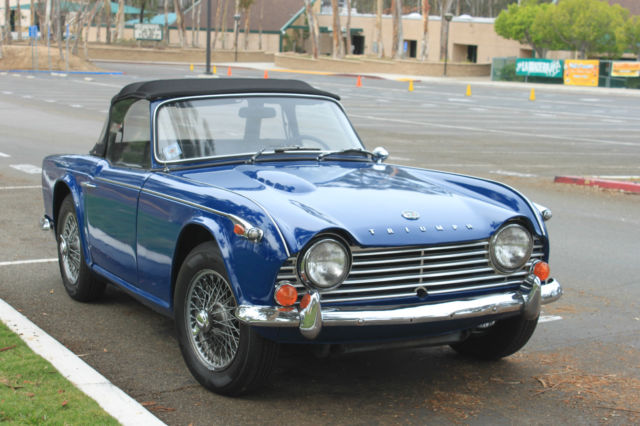 Triumph 1967 Triumph Tr4a Irs Beautiful And Ready To Drive Enjoy