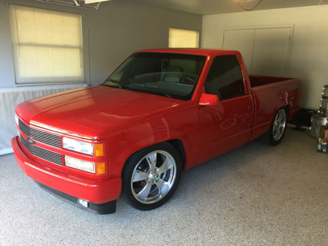 true 1993 454ss truck red with gray interior supercharged. Black Bedroom Furniture Sets. Home Design Ideas