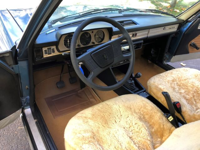 Two Owner 1975 Peugeot 504 Diesel 4 Speed Runs And Drives No Rust