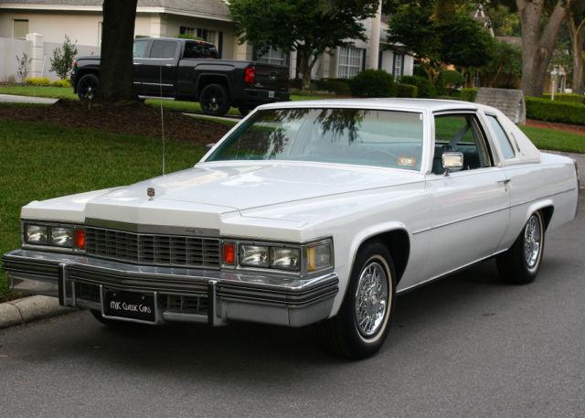 Cadillac (MI) United States  city photos gallery : ... Cadillac Coupe de Ville 90K ORIG MI Classic Cadillac DeVille 1978