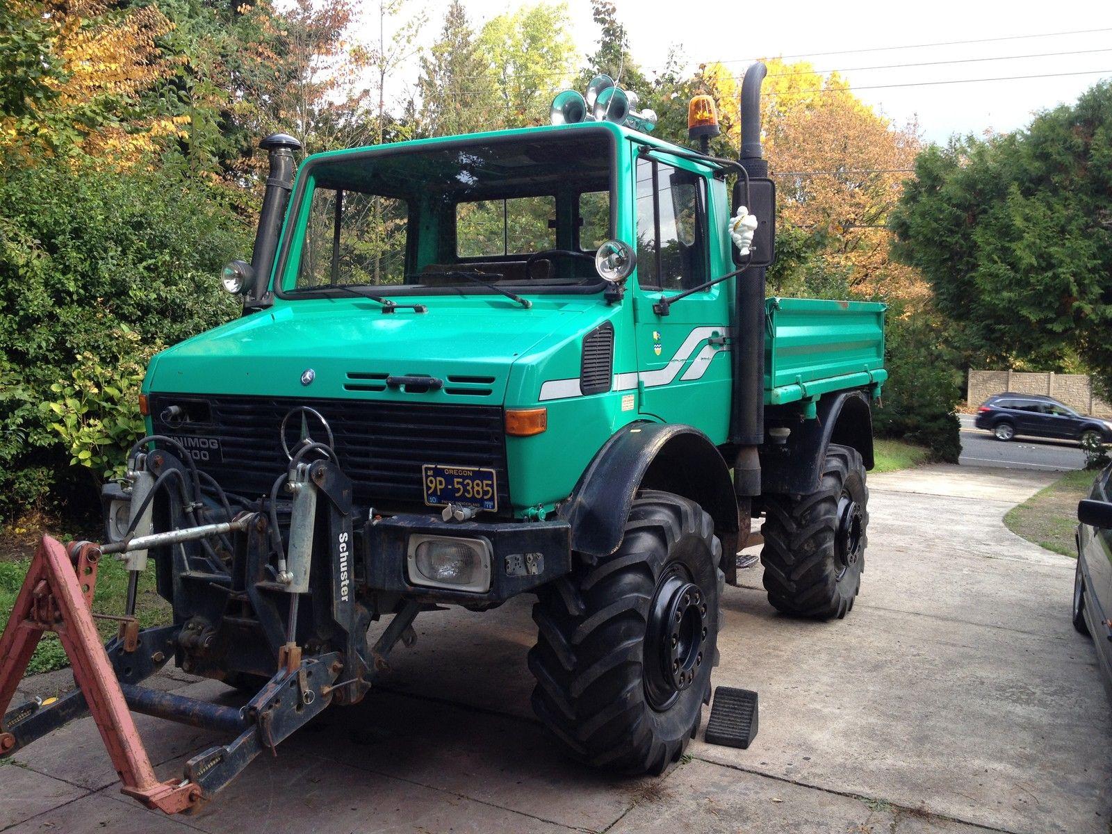 Unimog U1500 Ag For Sale In Portland Oregon United States