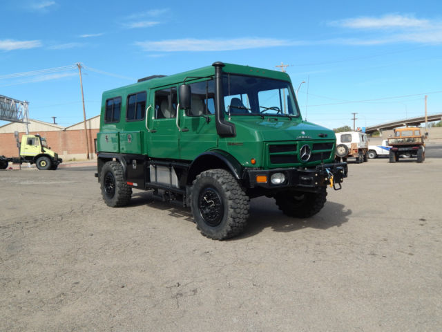 New Unimog For Sale Usa >> Unimog U1550L/37 Doka
