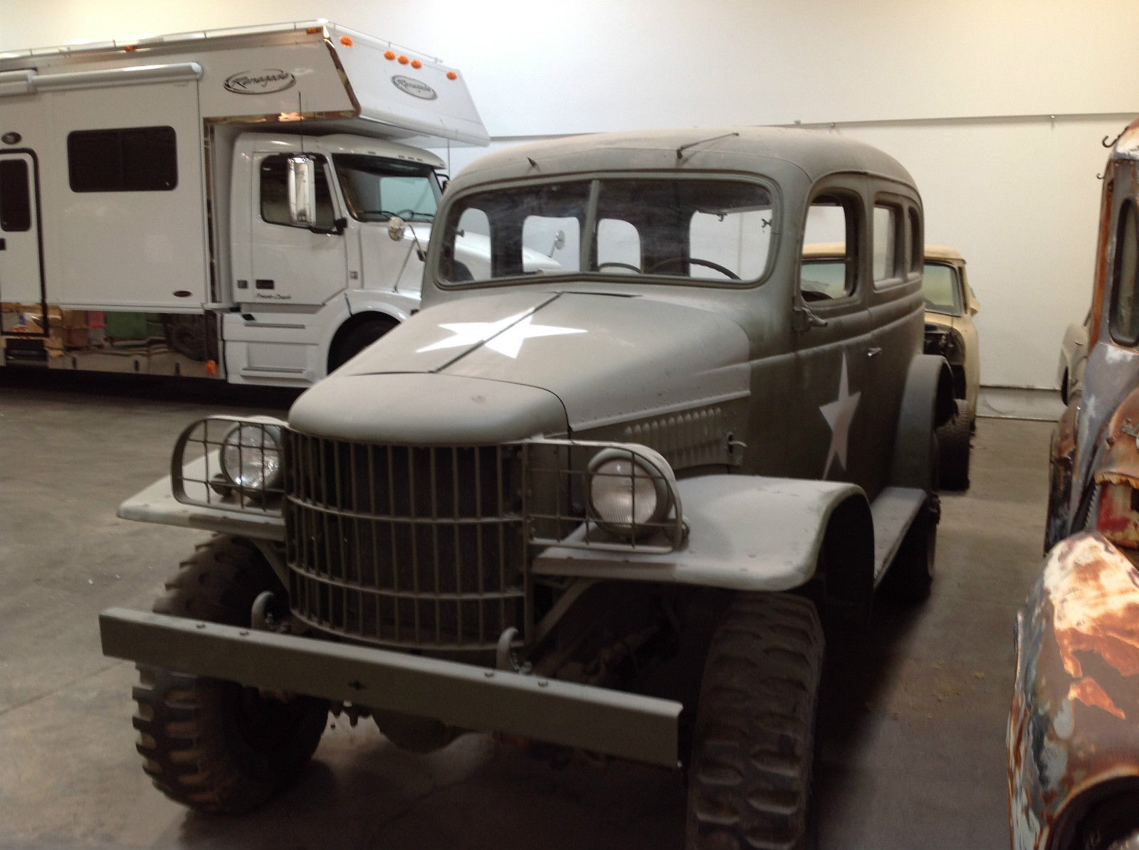 Unique 1941 dodge power wagon wc us military for Motorized wagon for sale