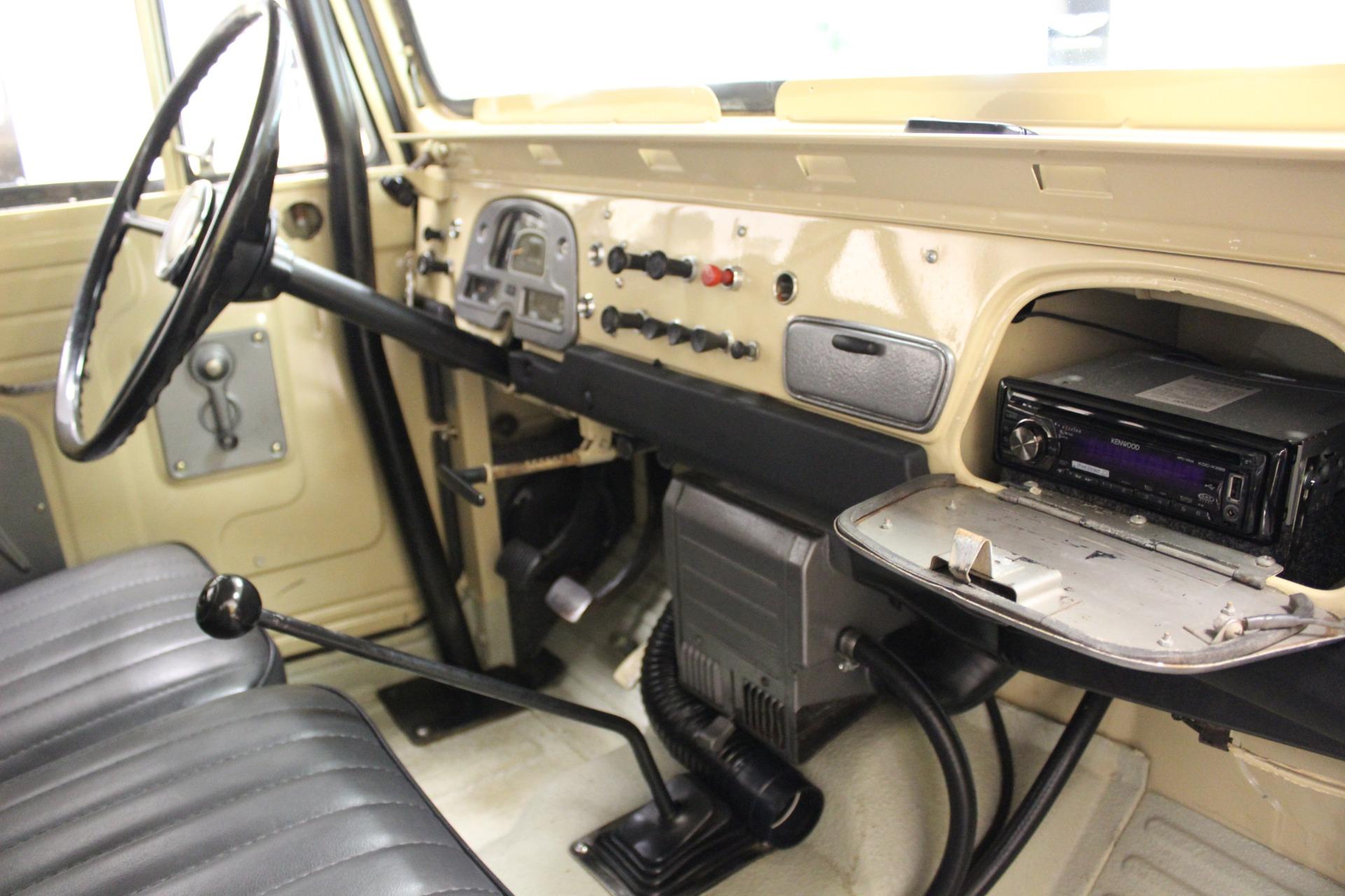 Used 1969 Toyota FJ40 Cruiser Toyota Beige Manual Lifted BF Goodrich  Restored