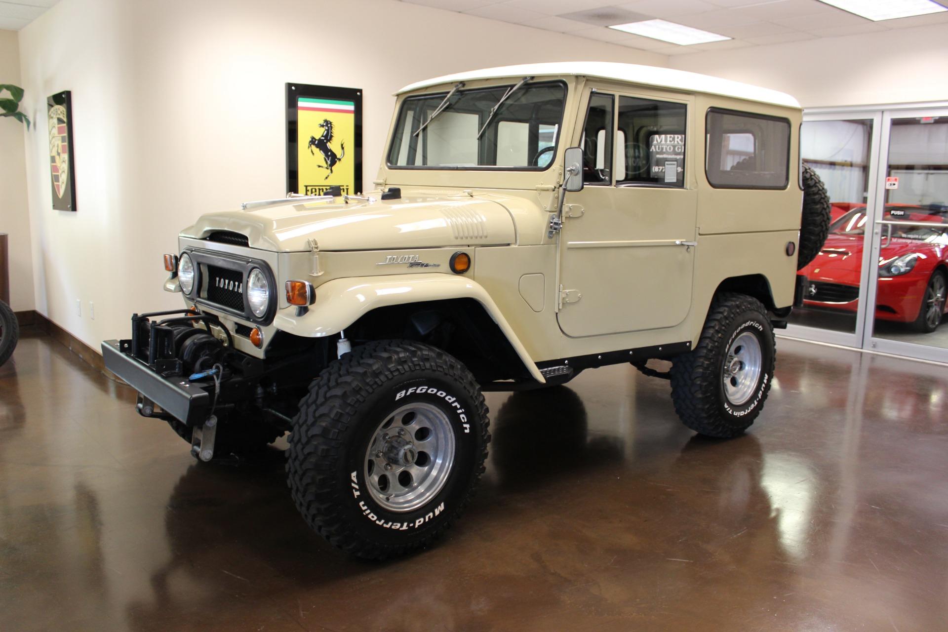 used 1969 toyota fj40 cruiser toyota beige manual lifted bf goodrichused 1969 toyota fj40 cruiser toyota beige manual lifted bf goodrich restored