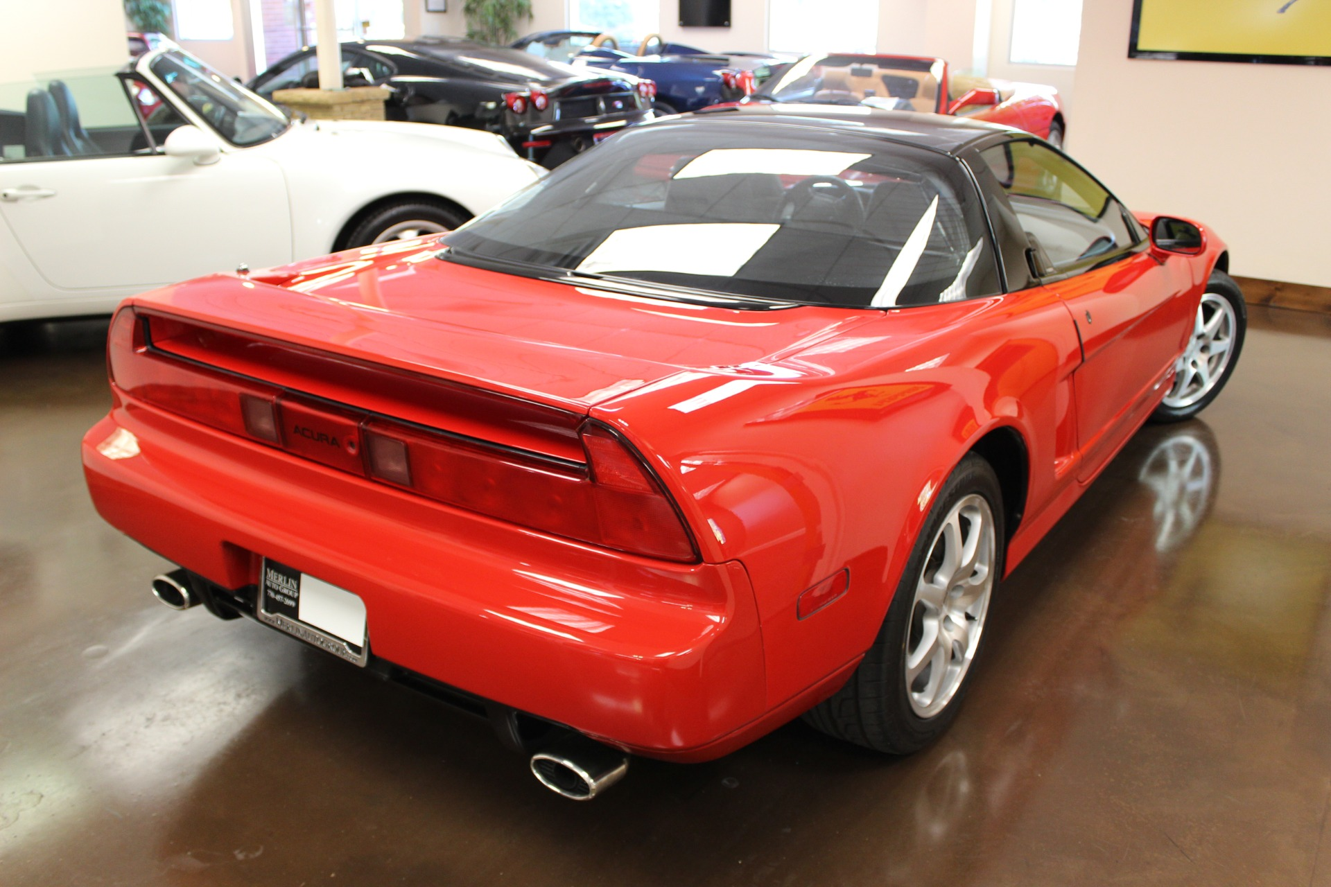 used 1992 acura nsx red coupe v6 3l manual leather all original. Black Bedroom Furniture Sets. Home Design Ideas