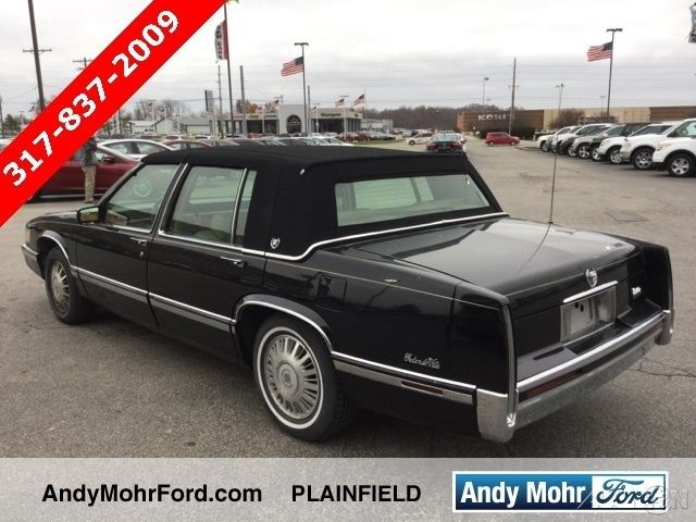 Used 92 Cadillac DeVille 49L V8 Auto FWD Blue Black Leather Cheap No Reserve