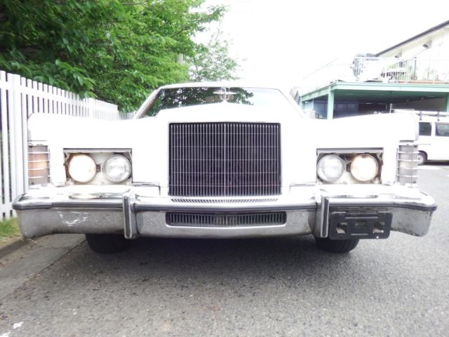 Very Rare Lincoln Continental Town Car 1974 Big Block V8 One Owner