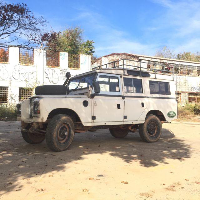 "Vintage 1980 Land Rover Series 3 109"" Safari Wagon, Pre"